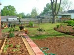 New Brick Paver Walkway & Raised Bed